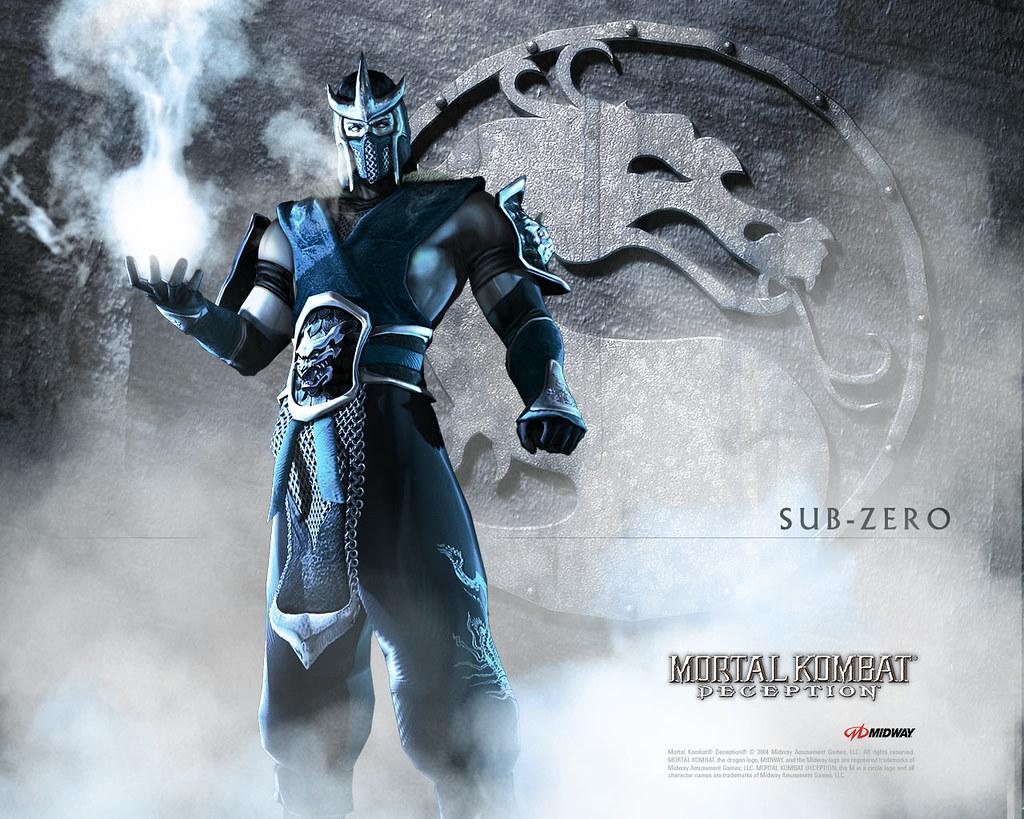 Sub Zero Wallpaper Mortal Kombat Deception Roberto Carlos