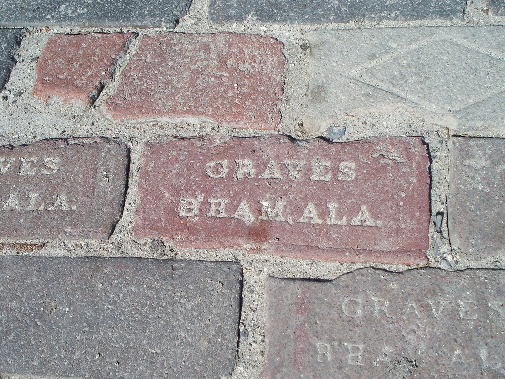 close-up showing one of the two brick company names | Flickr