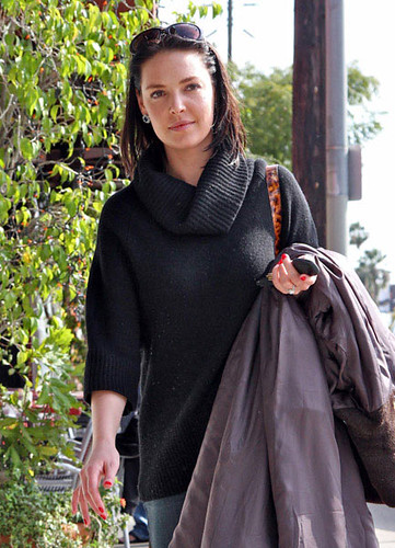 3d5cab347d7d Newly Brunette Katherine Heigl Shops in Los Feliz