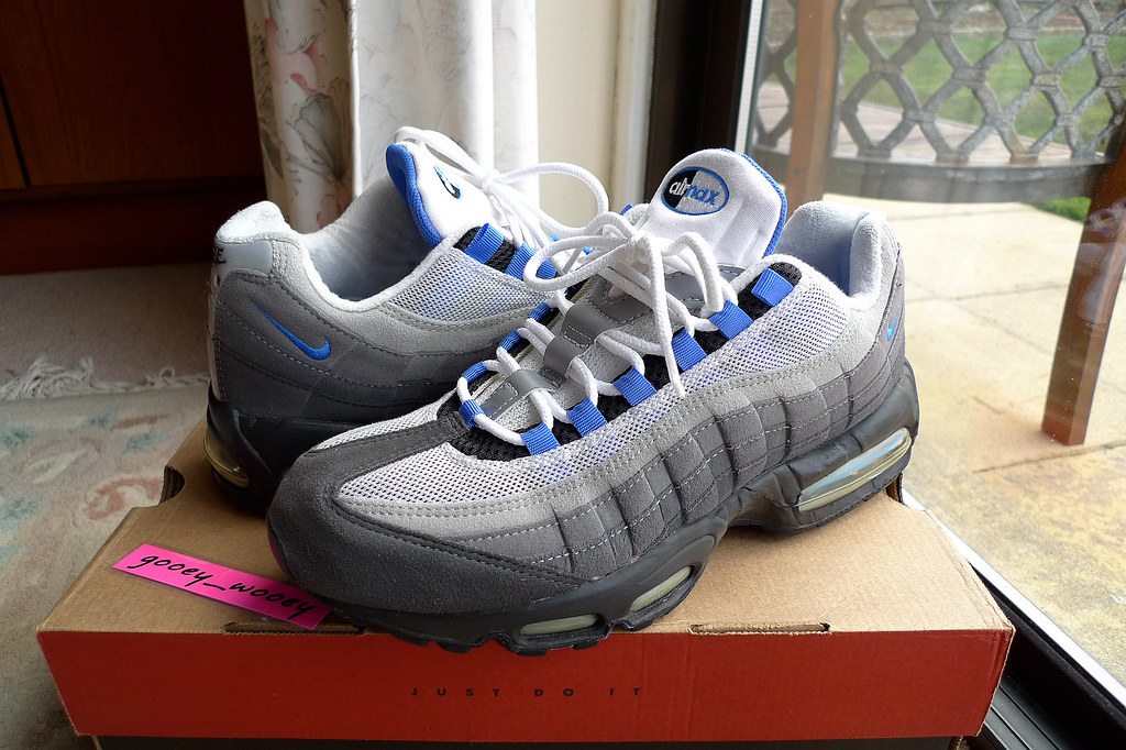 Nike Air Max 95 Black Blue Crystal 604116 042 98 Flickr