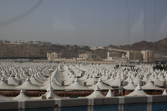 The tents of Mina