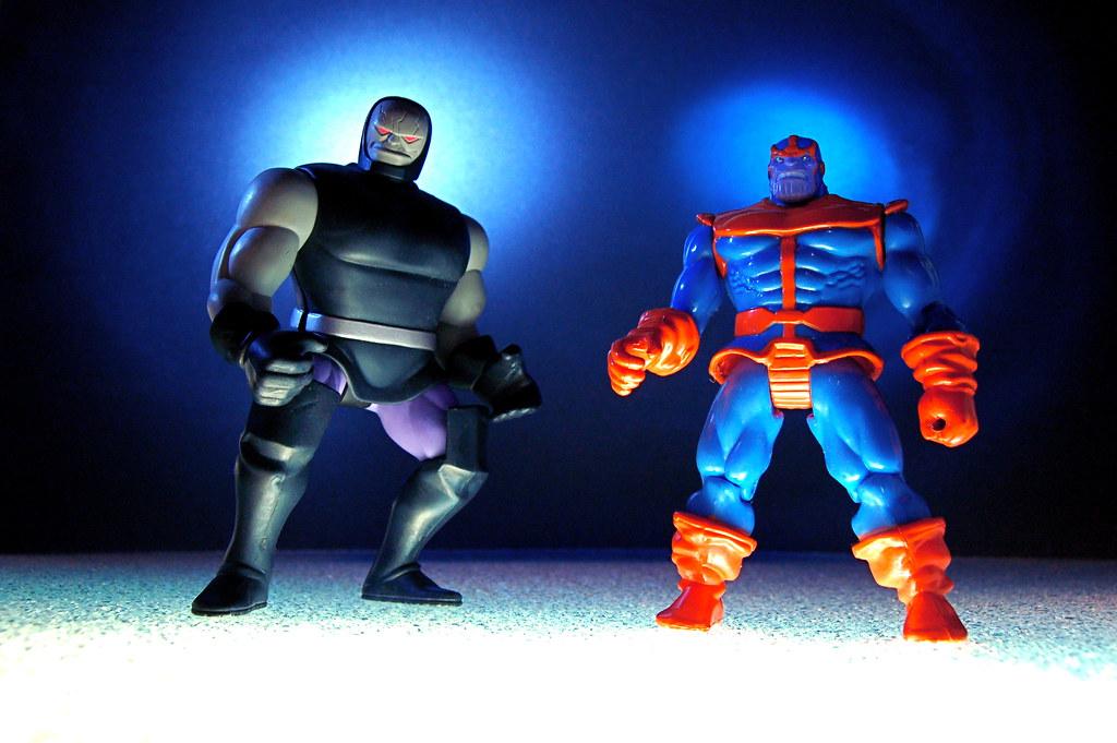 Darkseid vs  Thanos (86/365)   Darkseid: Tyrannical ruler of…   Flickr