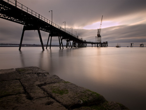 longexposure water sunrise dawn pier jetty mersey wirral tranmere ndfilter rockferry nd110
