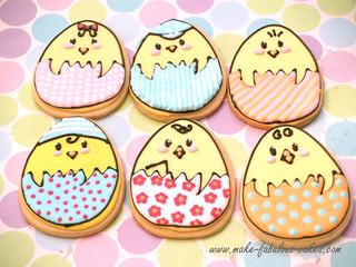 Easter Egg Cookies   by fabcakelady