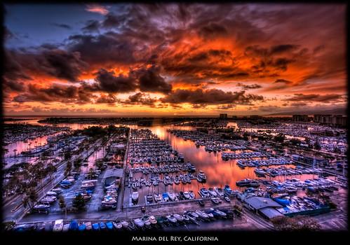 california losangeles photomatix sailboat sunset