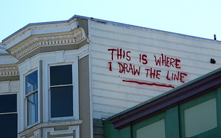 20100424 banksy-draw-the-line | by Jym Dyer