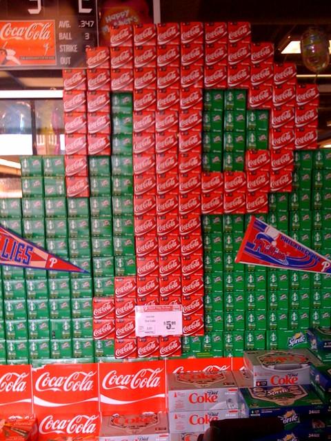 Coke/sprite display at the acme. #fb