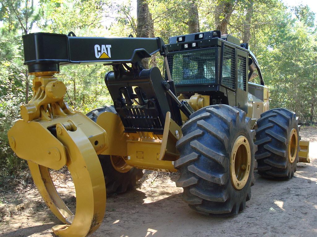 CAT 525C | CAT 525 skidder Скиддер CAT 525 | CAT Forest