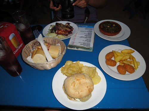 Tapas in Seville, Spain