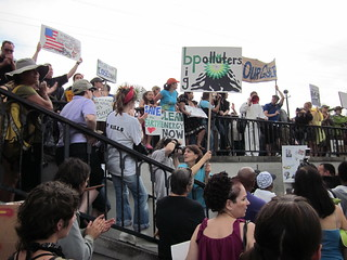 NOLA BP Oil Flood Protest Save the Earth