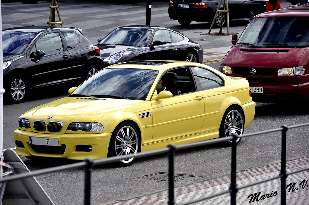 Bmw M3 E46 Dakar Yellow M3 In Gijon Mario Nosti Vina Flickr