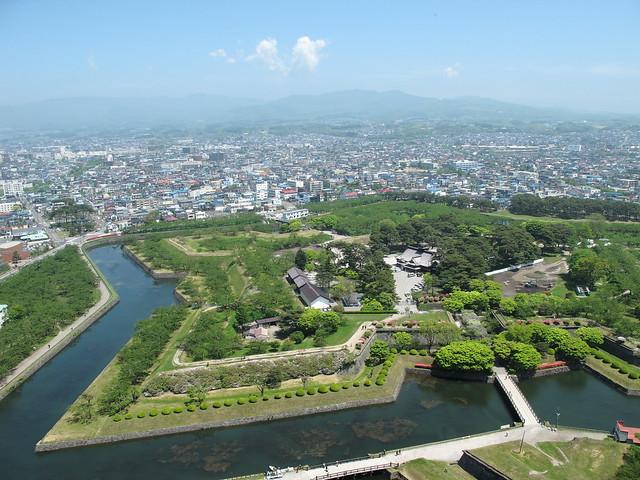GORYOKAKU Fort in HAKODATE.