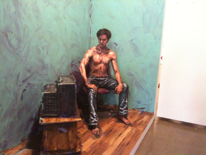 Alexa Meade's installation at Irvine Contemporary
