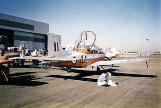 Sale of RAAF CT4 Trainers at Bankstown Aerodrome May 1993