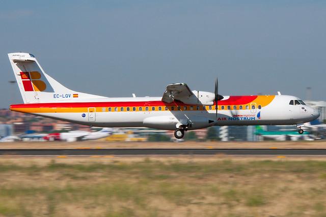 EC-LQV Air Nostrum ATR 72-600 Madrid Barajas