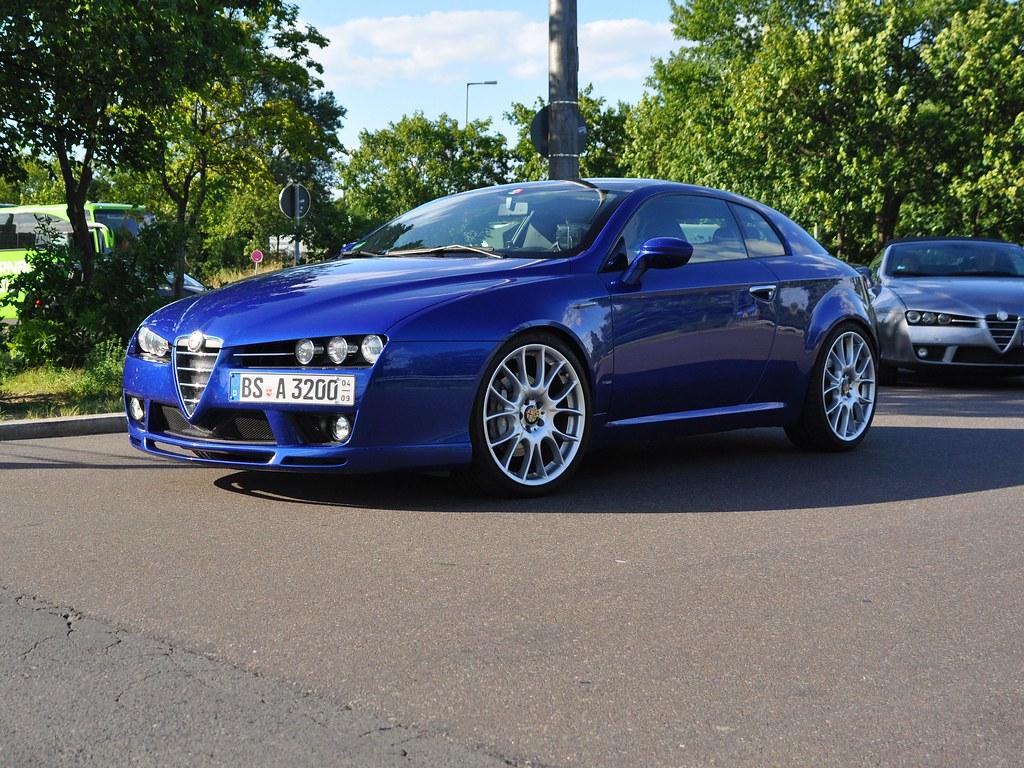 Alfa Romeo Brera 3 2 Jts V6 24v Q4 Alfa Club Berlin Avus M Flickr