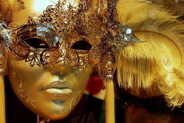 Venezia, il carnevale ... oro