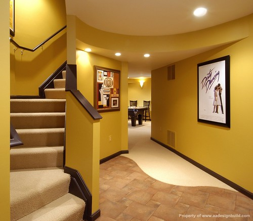 www.aadesignbuild.com, Custom Design and Remodeling  Ideas, Finished basement, Home Theater, Wet Bar, Pool Table, Play Room, Lighting, Ceiling Design Ideas, Interior Design Ideas, Bold Colors, Germantown, Gaithersburg, Rockville, Potomac, Bethesda | by A&A Design Build Remodeling, Inc.