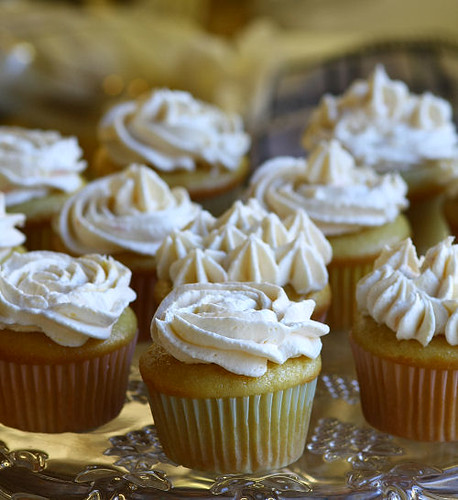 Vegan Birthday orange cupcakes | by Marji Beach