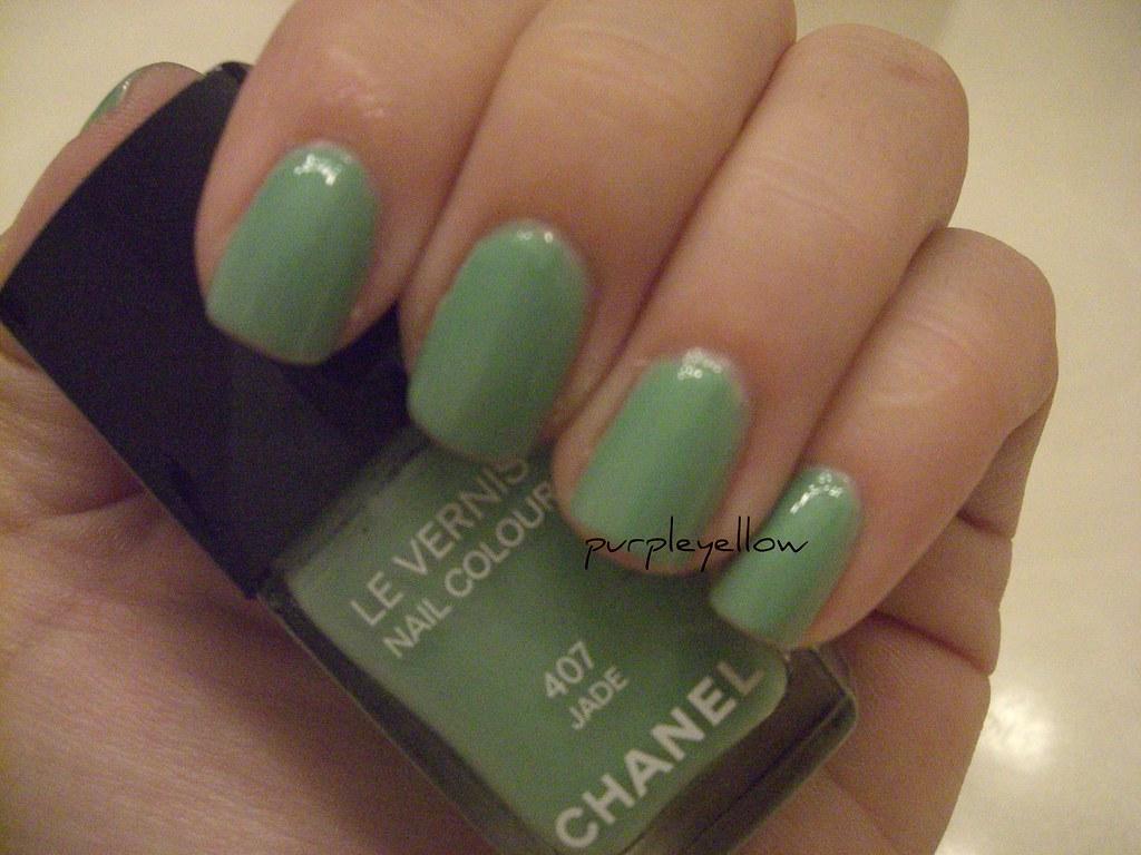 Chanel Jade nail polish | Chanel Jade nail polish | Flickr