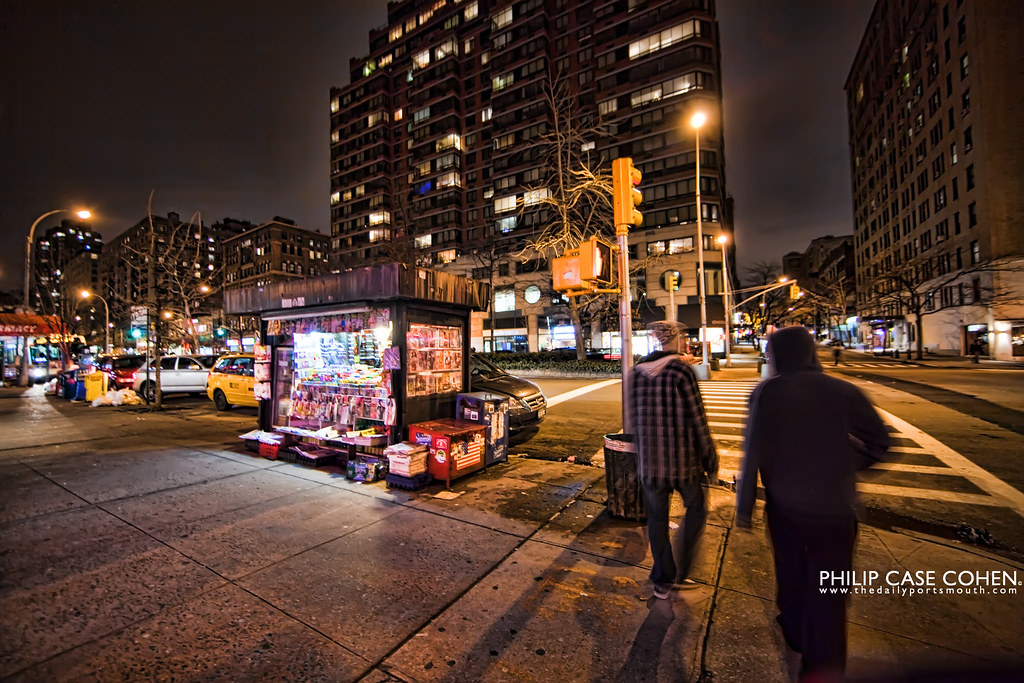 Streets of NYC by Philip Case Cohen