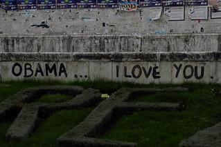 Tirana loves Obama