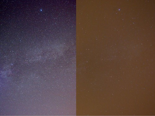 Wales vs Sussex, Light Pollution
