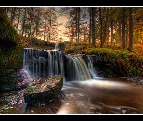 wales sunrise geotagged waterfall cymru breconbeacons explore brecon zuiko hdr hdri talybont photomatix olympuse30 918mm antonykelvinsbigdayout ishouldvelefthimatthetopofthehill geo:lat=51848047 geo:lon=3371279