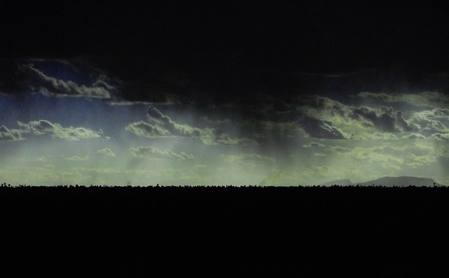 Raining darkness