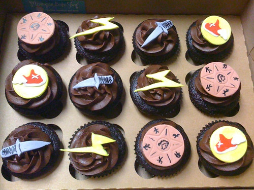 Percy Jackson The Lightning Thief Cupcakes Chocolate Cho Flickr
