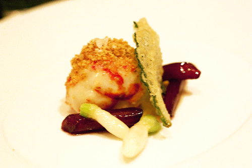 butter poached nova scotia lobster @ per se | by bionicgrrrl