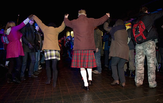 Hogmanay dancers | by VisitBritain Images