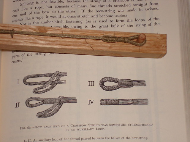 How to make a medieval bow string for the ballista | Flickr