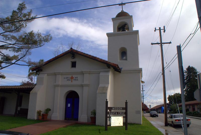 Mission Chapel, Santa Cruz Mission