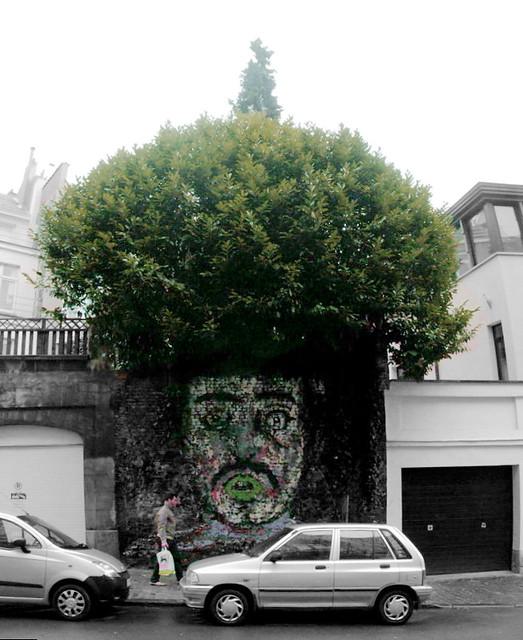 street art & graffiti Brussels : Muga