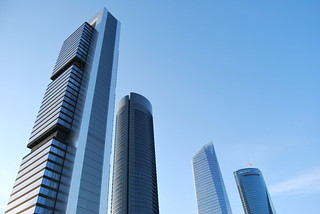 Cuatro Torres Business Area | by Enrique Olivar