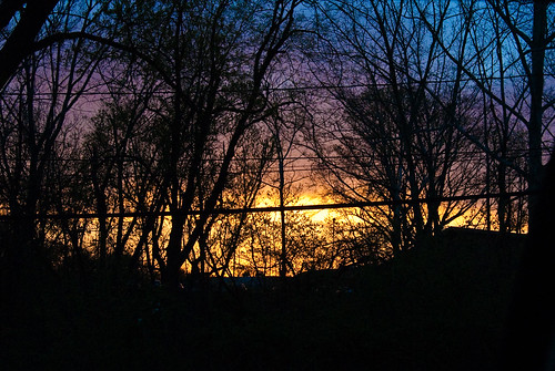 sunset nikon d200 project365