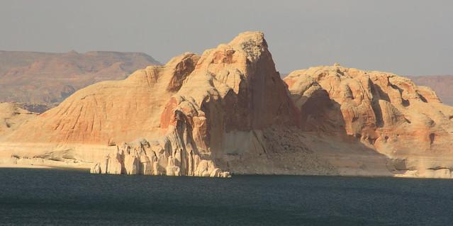 Views from the marina near Lake Powell, AZ