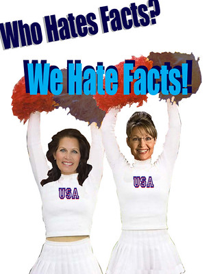 Rah! Rah! Rah! Sara and Michele Hate Facts