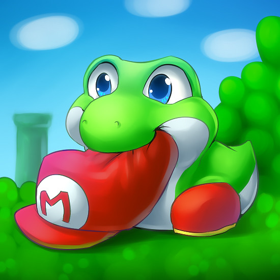 Baby Yoshi By Kikariz Luke That Honest Guy ಠಠ Flickr