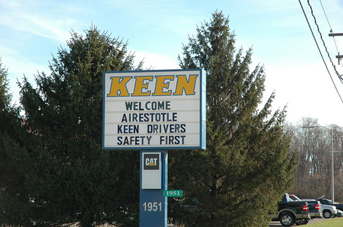 Keen Sign Welcomes Airestotle | by CleanAirBoard