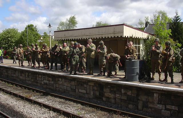 ELR War Weekend 2010 at Ramsbottom
