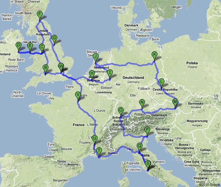 Europe 2010 Europe Map Source Google Maps Jdub Dub Flickr