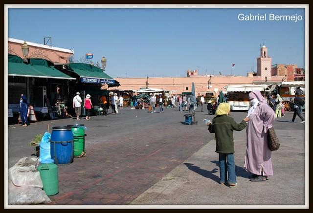 Conversando en Marrakech