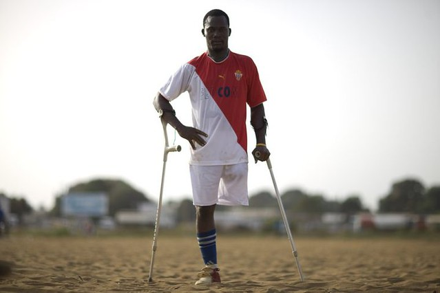 Football helps heal scars of past in Liberia (photo 4/7)