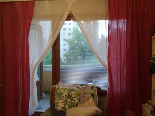 New curtains from IKEA