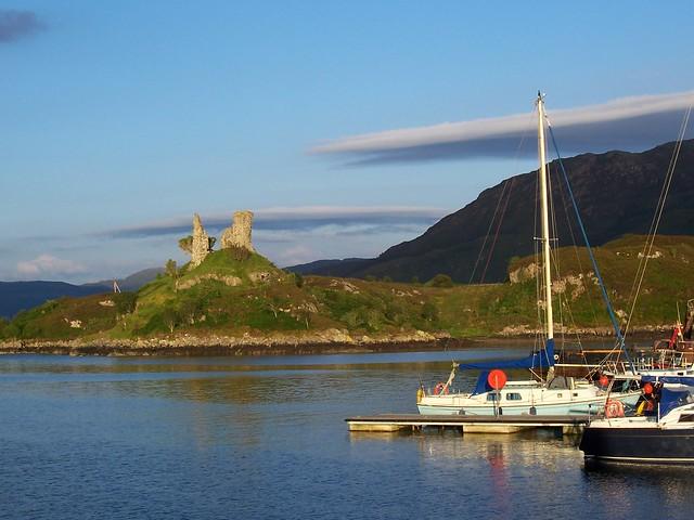 Caisteal Maol, Kyleakin, Isle of Skye