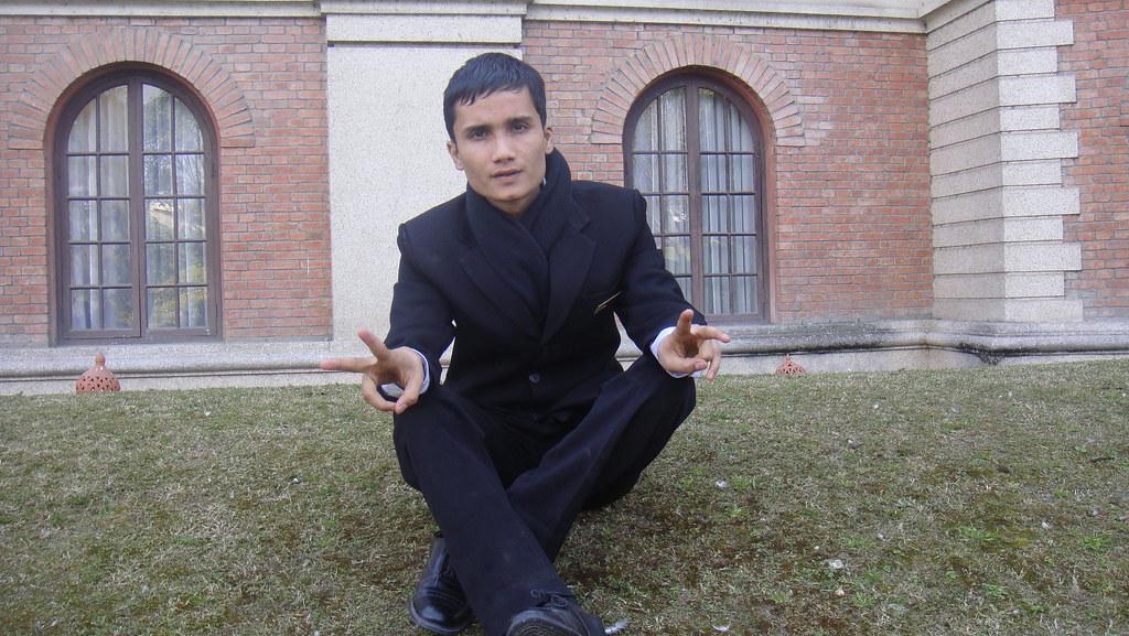 Suresh Apex Bhandari poses picture at the Hotel Yak &Yeti-Durbar Marg,Kathmandu during Ist Semester(2010)..06338