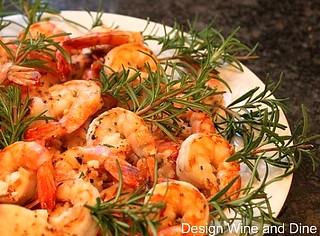 Garlic Rosemary Shrimp   by Carolyn McCaffrey Stalnaker