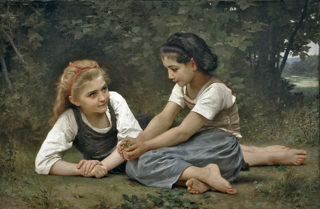 Nut Gatherers, 1882